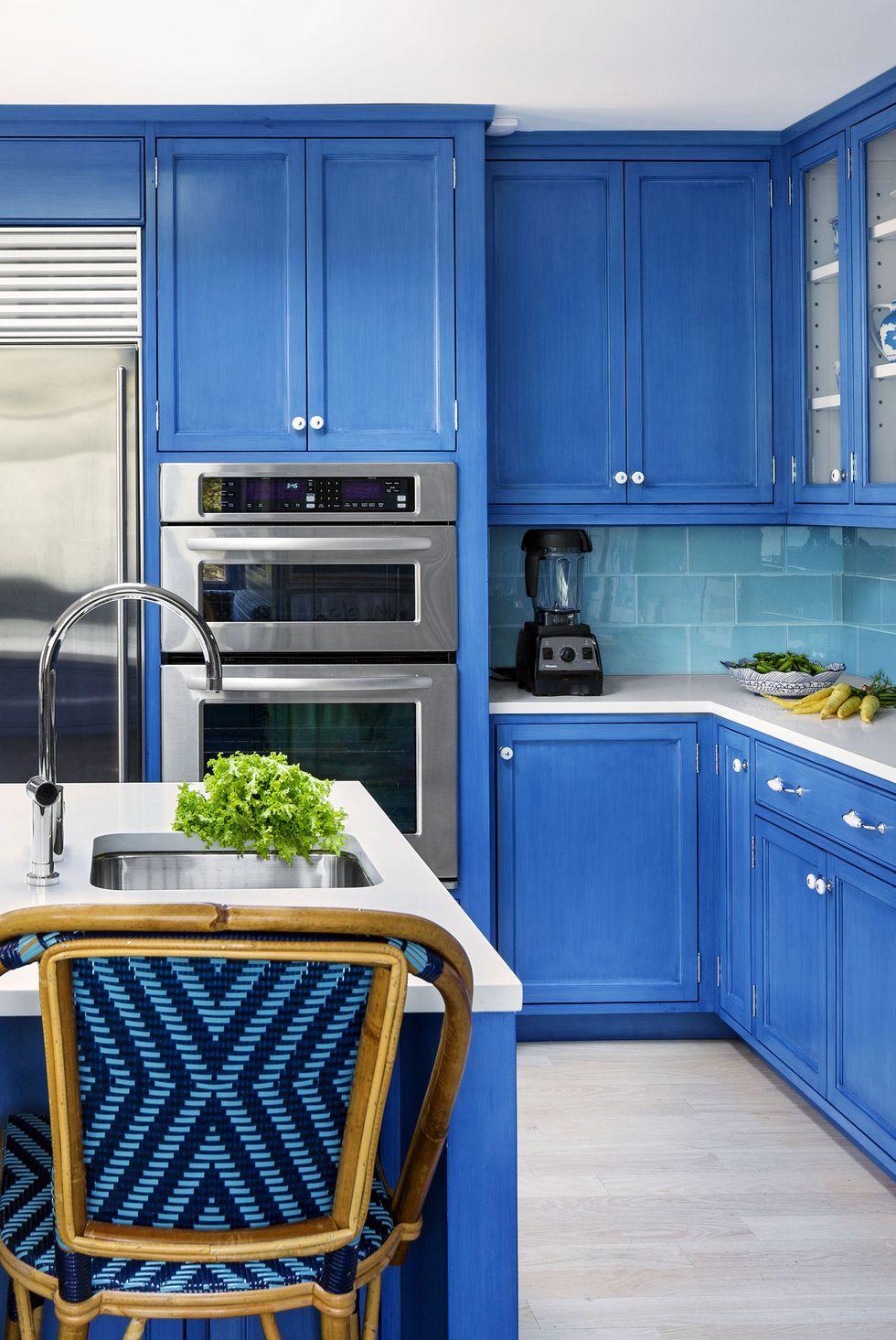 Blue Kitchen Theme Ideas For Decoration