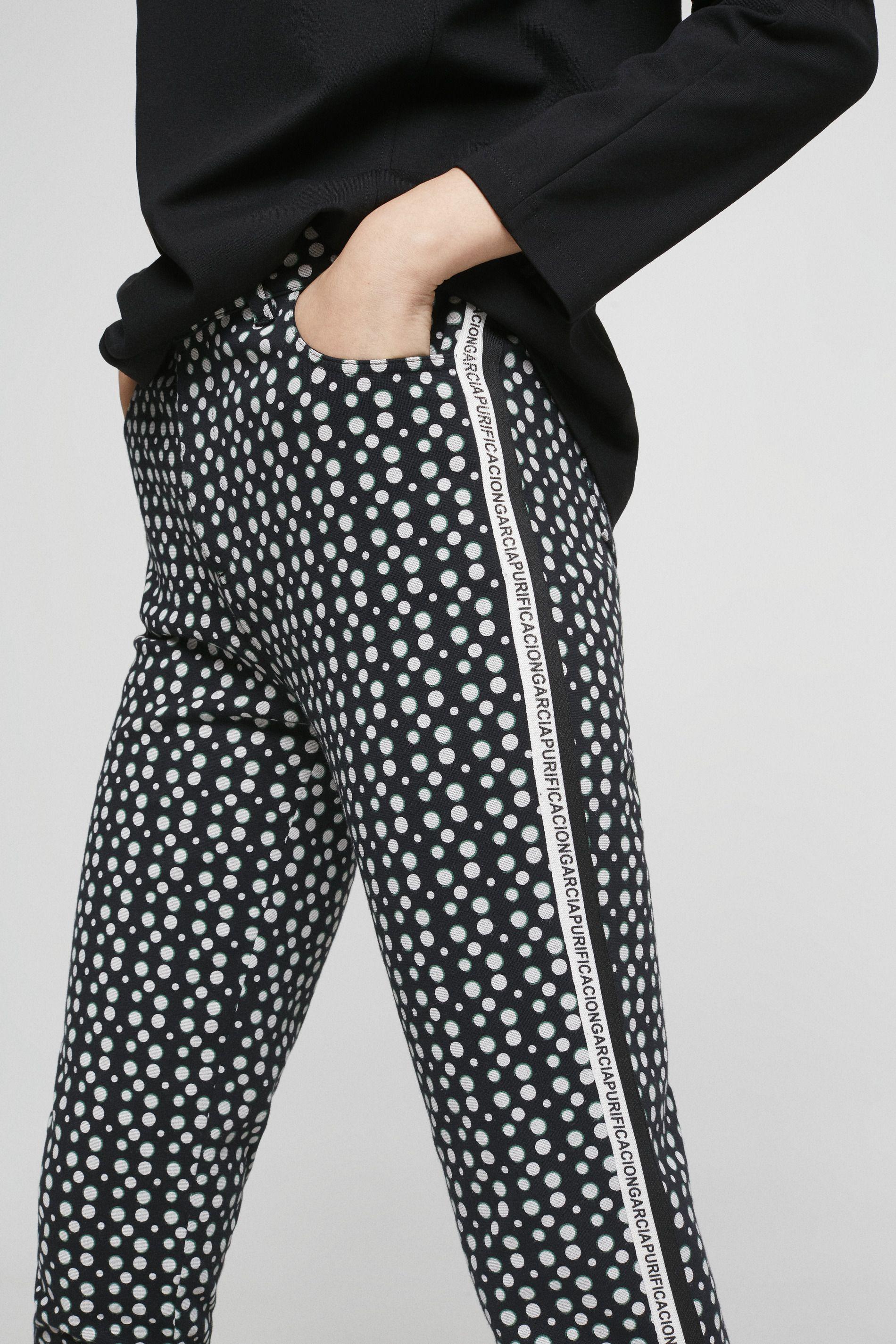 Pantalón Pitillo Cinta Lateral Pantalones Colección Mujer Purificación García Pantalón Pitillo Pitillos Pantalones