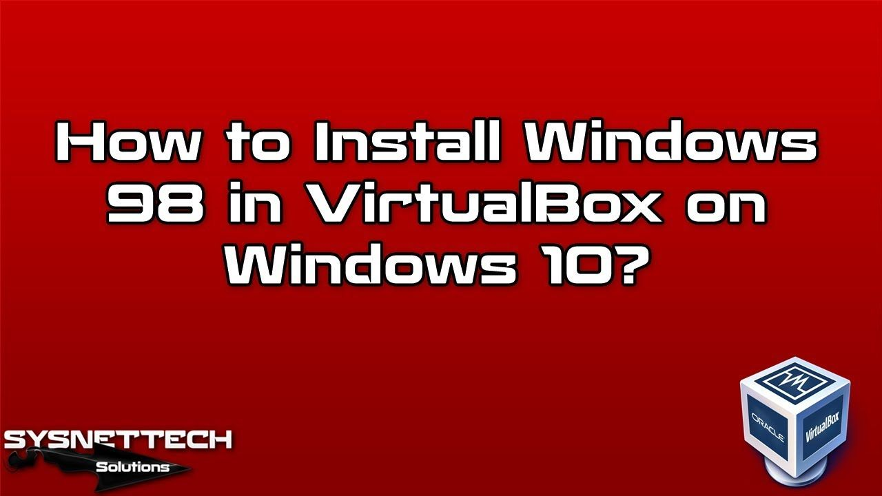 Pin by SYSNETTECH Solutions on Oracle VM VirtualBox