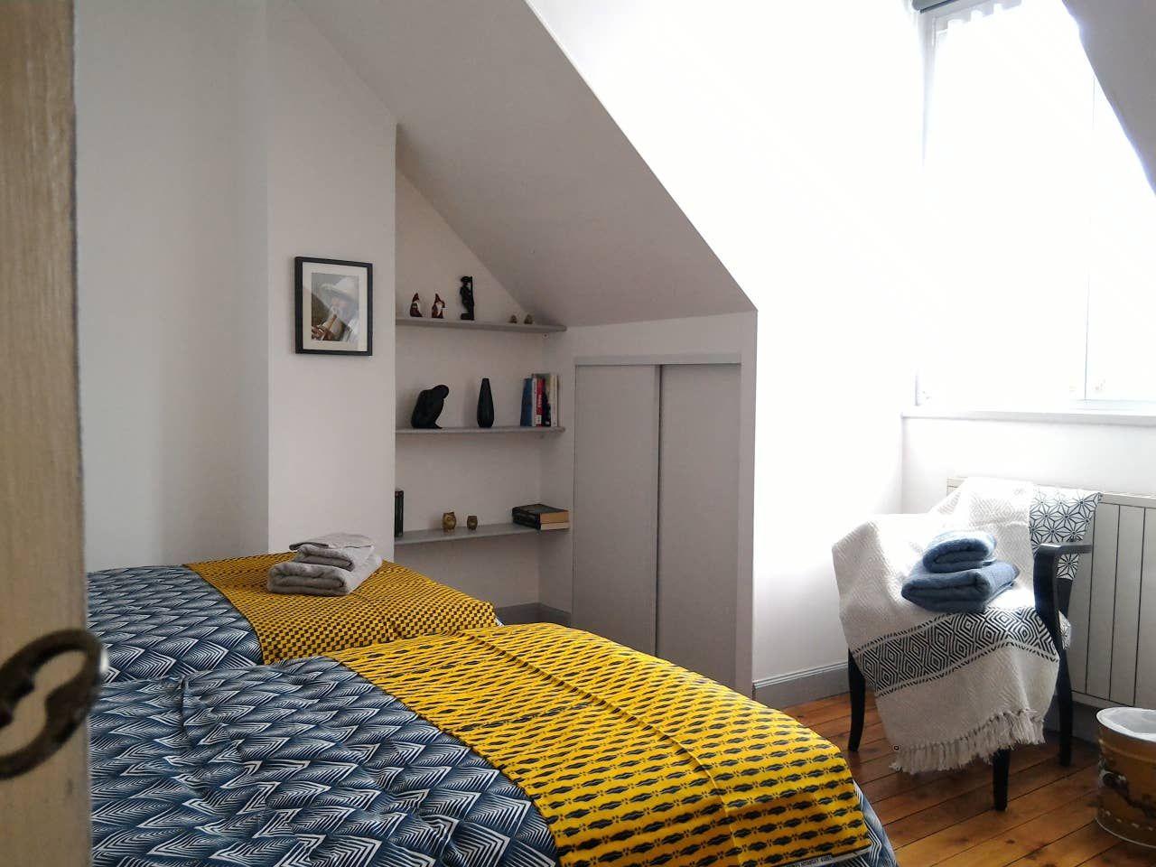 Airbnb Amiens Une Escale Accueillante Et Reposante 1 Chambre En 2020 Chambre Amiens