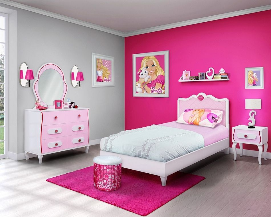 Barbie Bedroom - Isabella is saying this is how her future new bedroom will look like!