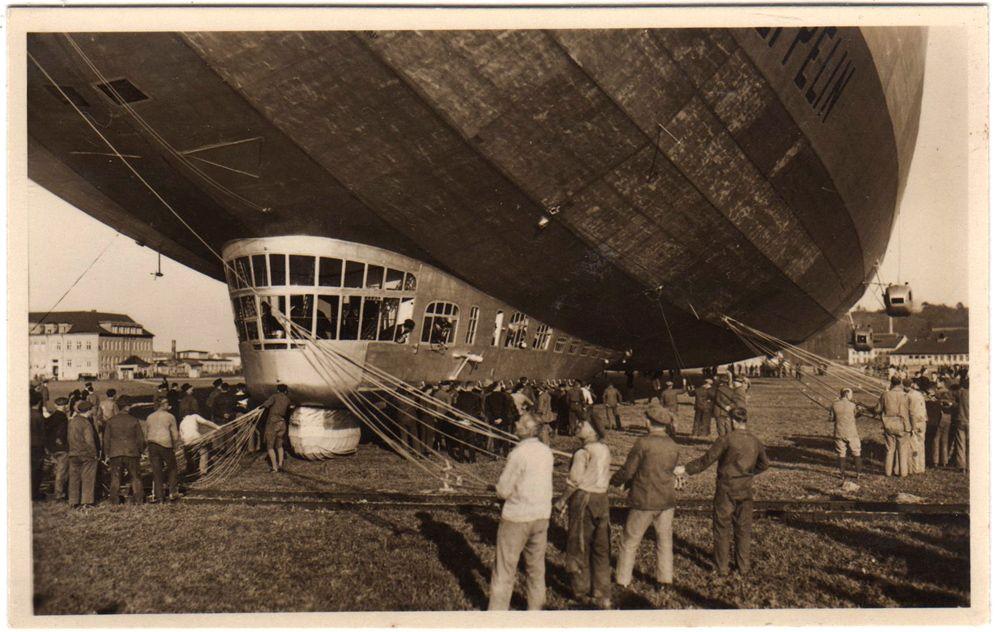 Control car of LZ-127 Graf Zeppelin