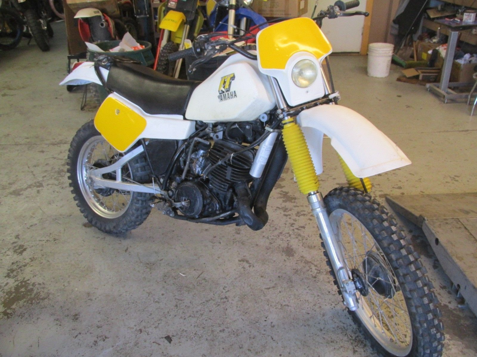 1981 yamaha it465 enduro bike ahmra open class ebay. Black Bedroom Furniture Sets. Home Design Ideas