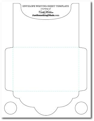 For X Photo Envelope Writing Sheets Free Images  Just