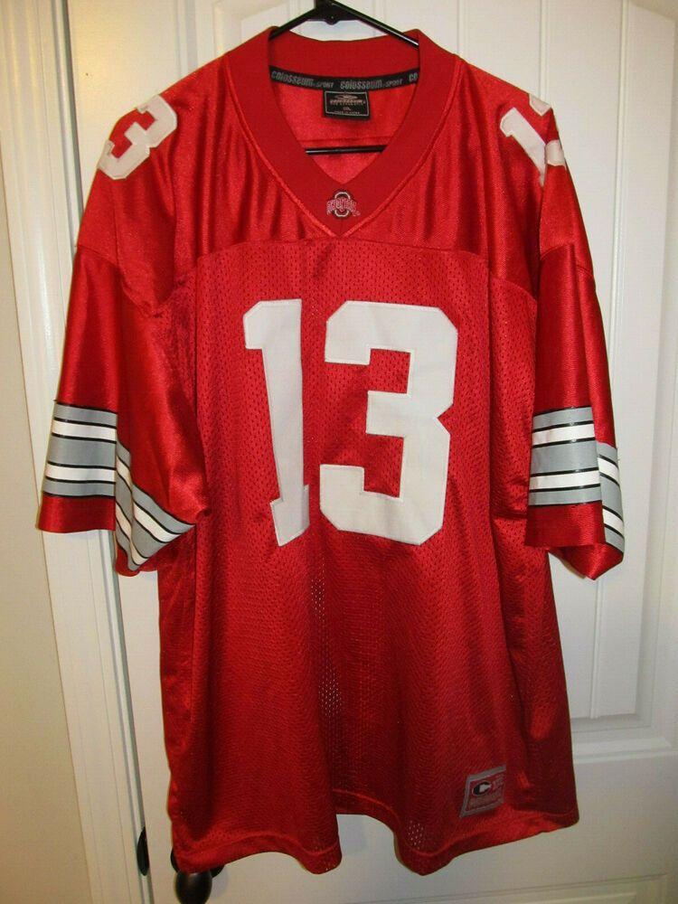 Ohio State Buckeyes football jersey - Colosseum Adult XL #ColosseumAthletics #OhioStateBuckeyes #ohiostatebuckeyes