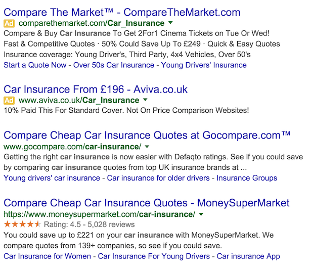 Do 50 Of Adults Really Not Recognise Ads In Search Results Ads Competitive Quotes Search Engine