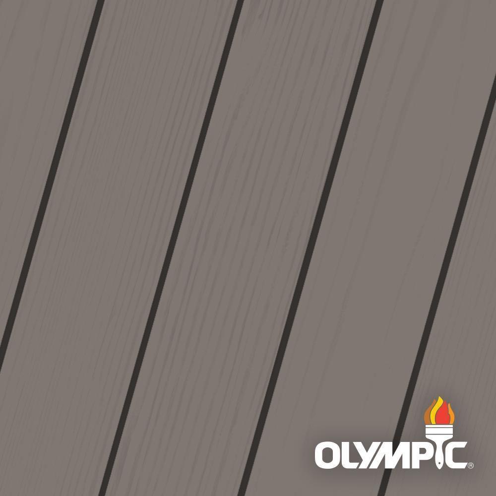 Olympic elite 1 gal ironbark solid advanced exterior