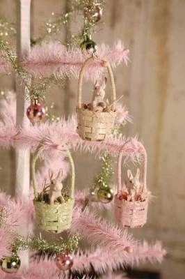 hares in hand baskets