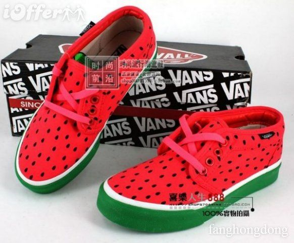 check out newest outlet for sale Watermelon VANS shoe | Vans in 2019 | Vans, Girls shoes ...