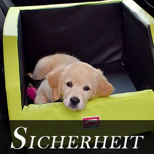 Hundesicherheit im Auto DOGSTYLER® Das Original