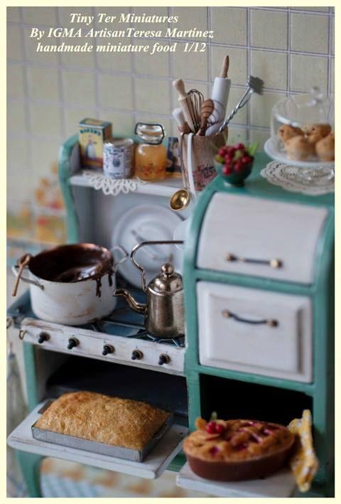 degamonal: by Teresa Martínez | Miniature ~Kitchen & Dining Room ...