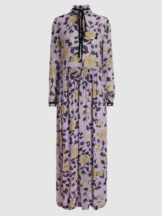9c5f9972 Ganni - Carlton Floral-Print Georgette Maxi Dress | The Modist ...
