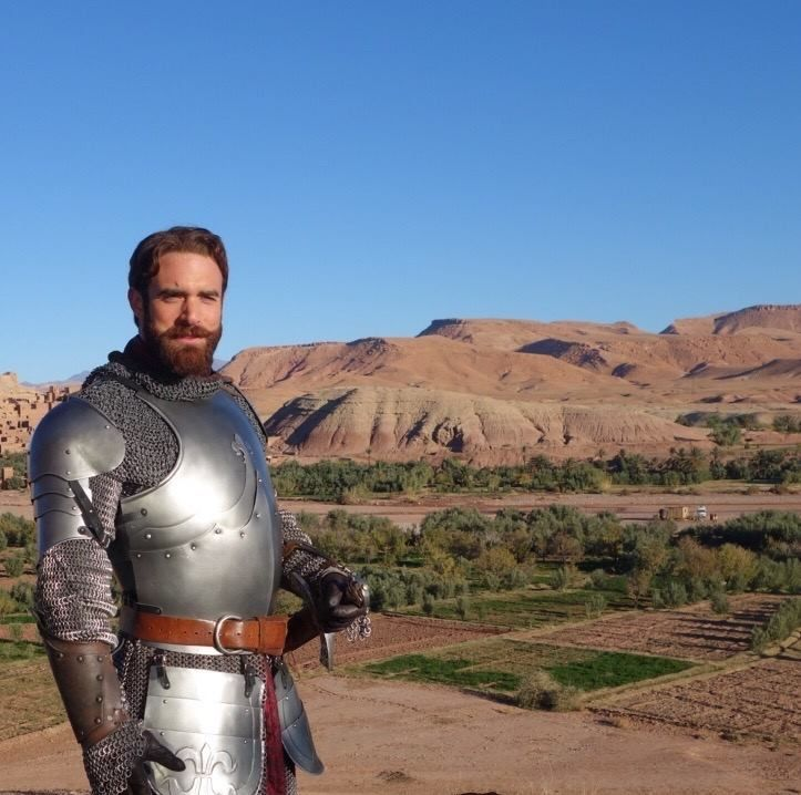 The hero known as ‪#‎Galavant‬ has reason to celebrate. Wishing Joshua Sasse a very Happy Birthday. (December 9th)