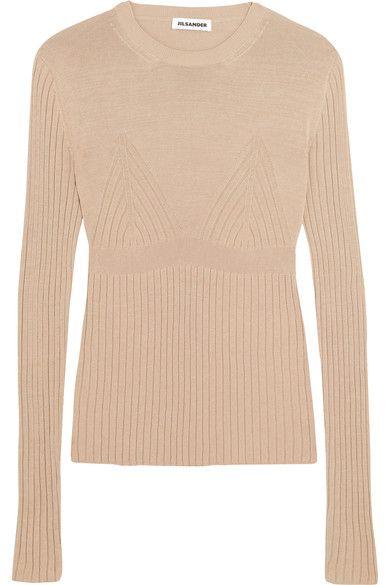 Knit Sweater jilsander Jil Sander cloth knitwear Ribbed 47qwZnT8xa