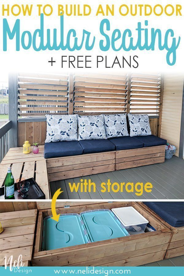 15 Compelling Contemporary Exterior Designs Of Luxury Homes You Ll Love: Pin On Diy Storage Bench