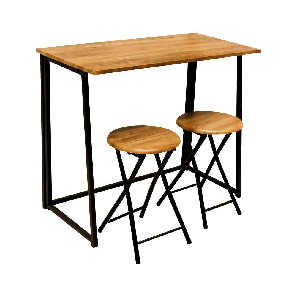 Meja Makan Minimalis Model Meja Bar Dengan 2 Kursi Desain Meja Makan Desain Meja Meja Makan Meja makan 2 kursi
