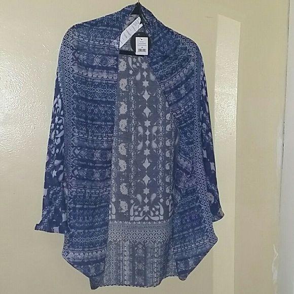 NWT Cotton on sheer kimono Cotton on sheer kimono new  with tags Cotton On Sweaters