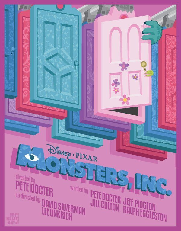 Disney Minimal Posters