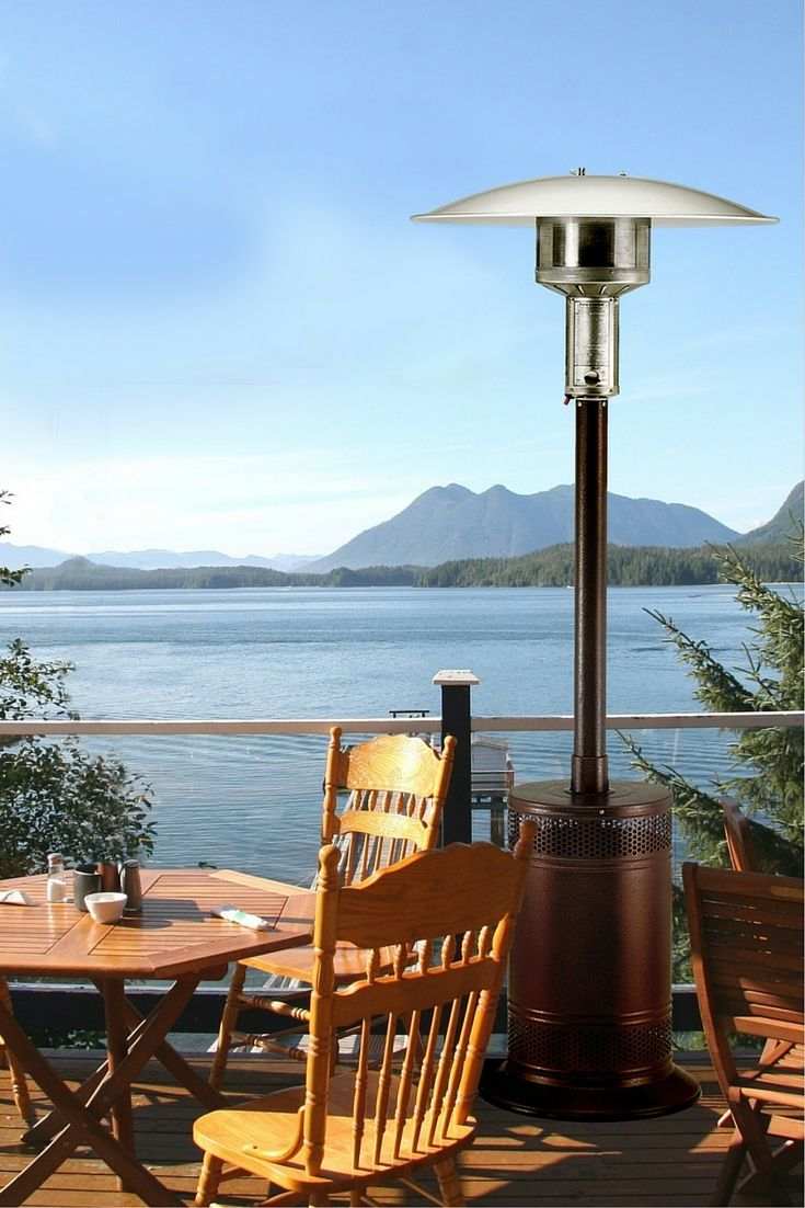 PC02J Propane Patio Heater Is Completely Self Contained And Portable,  Provides A Clean And Draft
