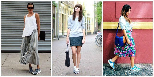 Correria de Mulher: Style Guide - Saia com Tênis