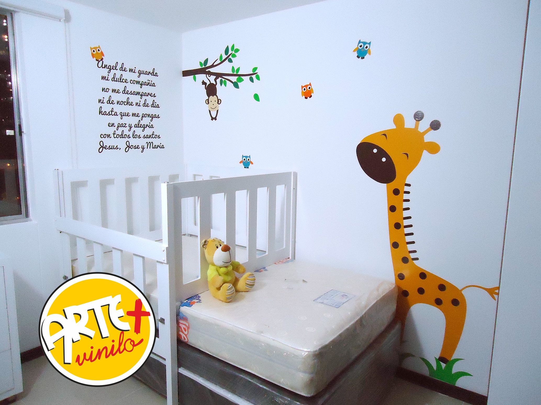 Decoraci n para el cuarto del bebe habitaciones - Decoracion habitacion del bebe ...