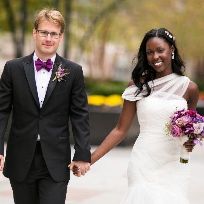 A Modern, Stylish Wedding In Chicago, IL