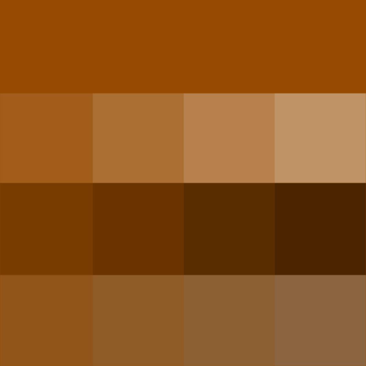 Brown Hue Tints Shades Tones Hue Pure Color With Tints Hue White Shades Hue Black And Tones Hu Rust Color Paint Color Textures Colour Tint