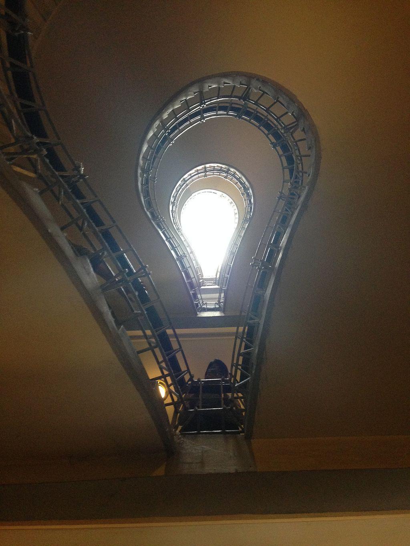 31 Light Bulb Staircase In Prague Bulb, Prague, Light bulb