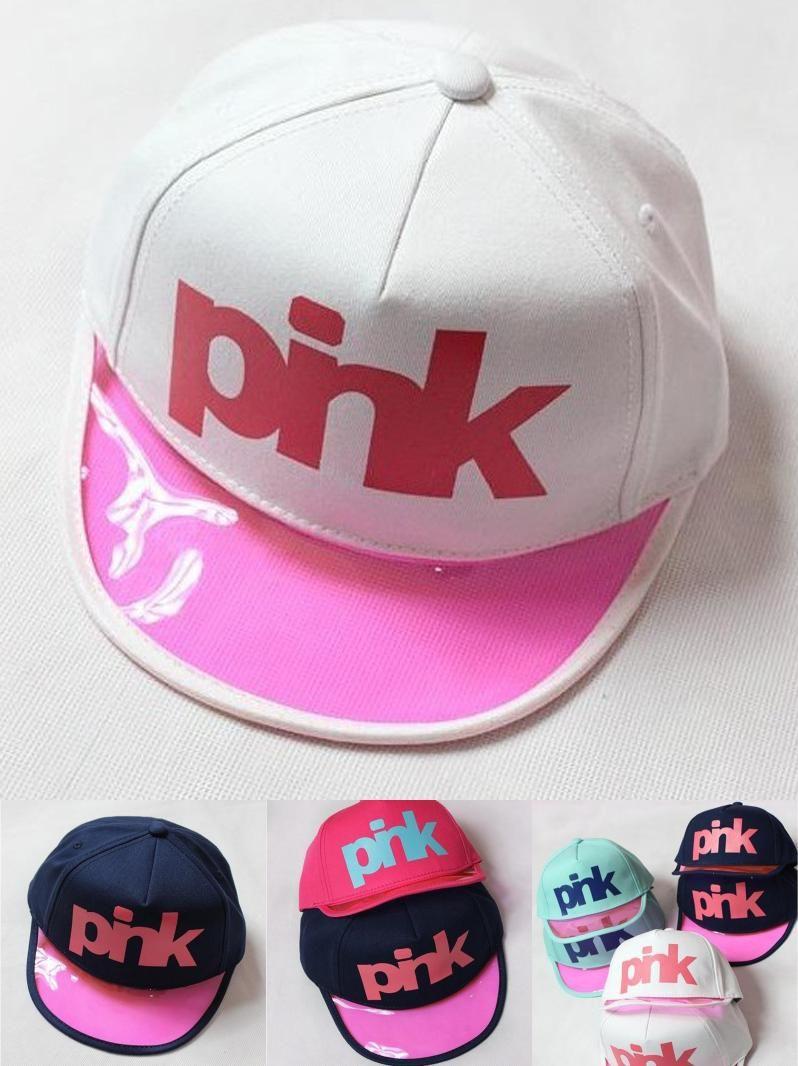 Visit to Buy  100% cotton PINK Fashion Parent-child Brand Snapback Baseball 67f79efb4ee9