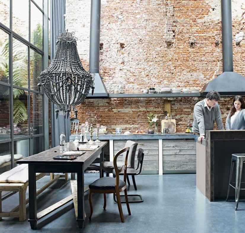 Los mejores loft con doble altura estilo industrial   buscar con ...