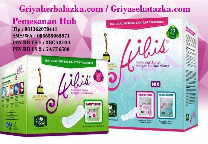 Pantyliner HIBIS HPAI yang murah hanya di griya herbal azka
