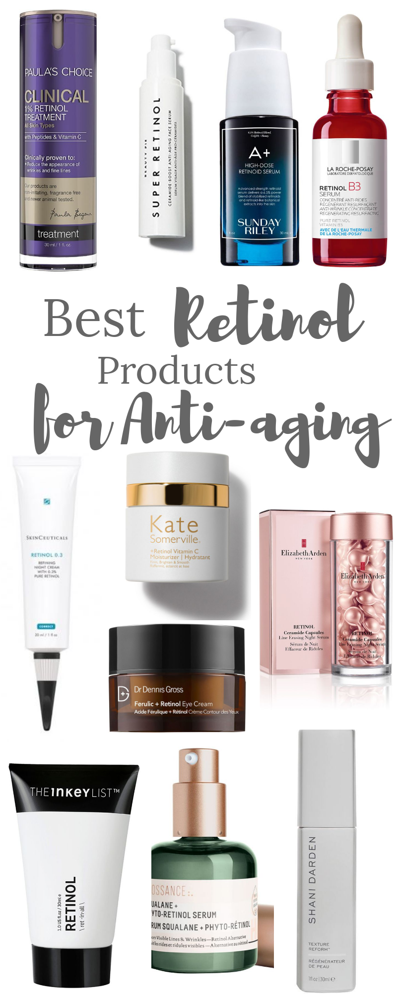 Your Guide To Retinoids And The Best Retinol Products For Antiaging In 2020 Aging Skin Care Diy Retinol Anti Aging Skin Products