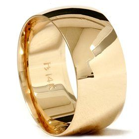 10mm Comfort Fit 14k Yellow Gold Wedding Band Mens Ring Holiday Adds 14k Yellow Gold Wedding Band Yellow Gold Wedding Band Rings For Men