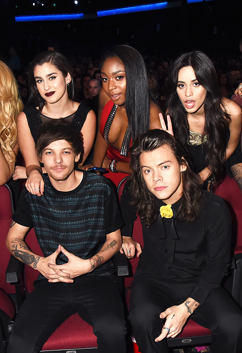 Fifth Harmony And One Direction Attend The 2015 American Music