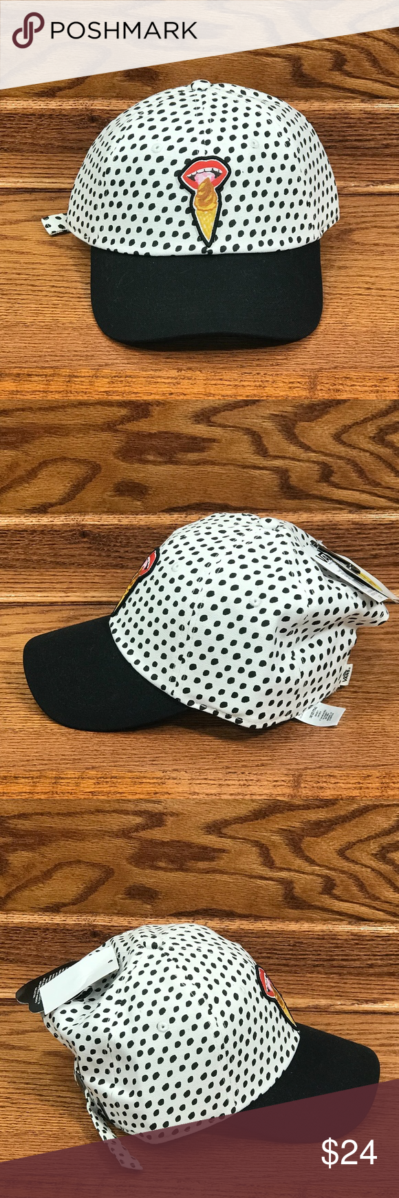 06e65675d7f Vans X Kendra Dandy Court Side Ice Cream Hat Vans X Kendra Dandy Court Side  Baseball Cap I Scream OTW Dad Hat Adjustable New with tags No stains or  tears ...