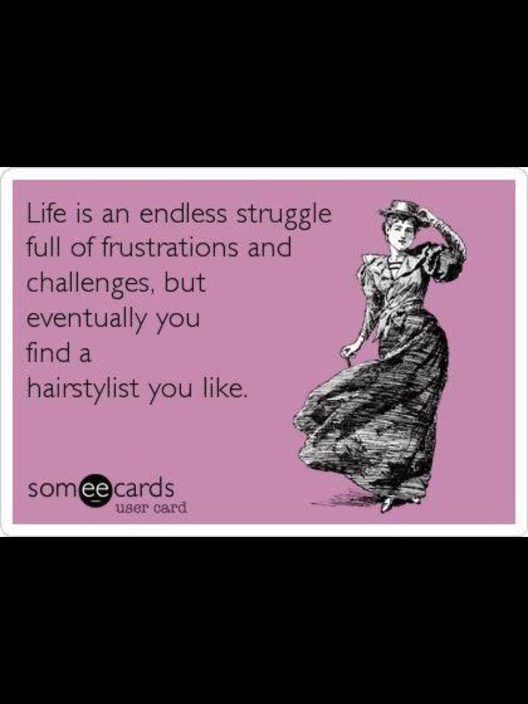 Pin by Mindy Taylor on hair Stylist humor, E cards