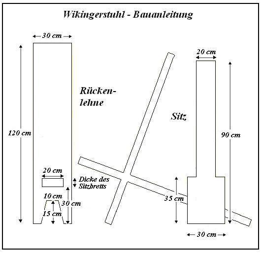 group of free celts bauanleitung wikinger steckstuhl holz pinterest wikinger m bel. Black Bedroom Furniture Sets. Home Design Ideas