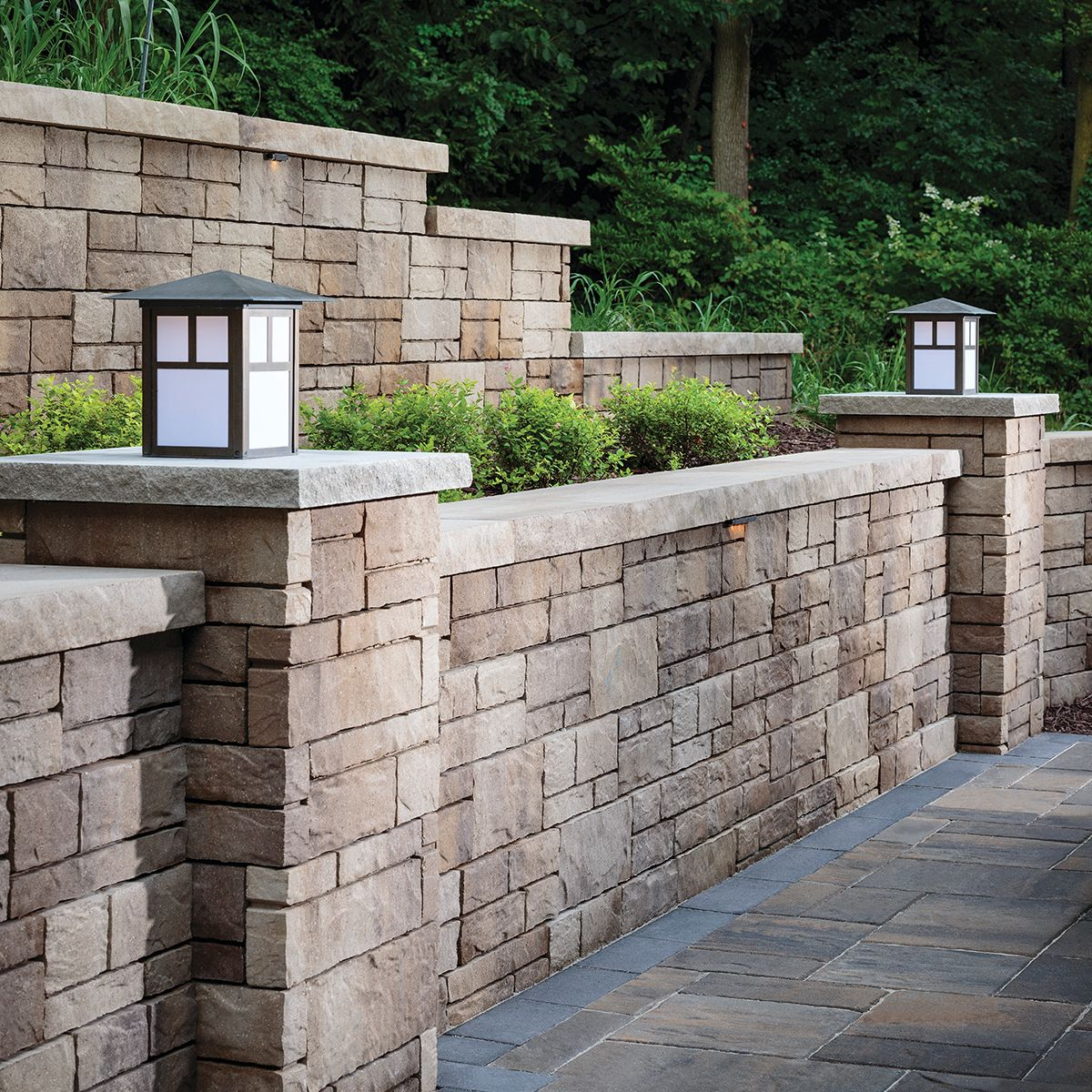 Easy Retaining Wall Ideas: Add A Eye-catching Wall That's Easy To Install With The