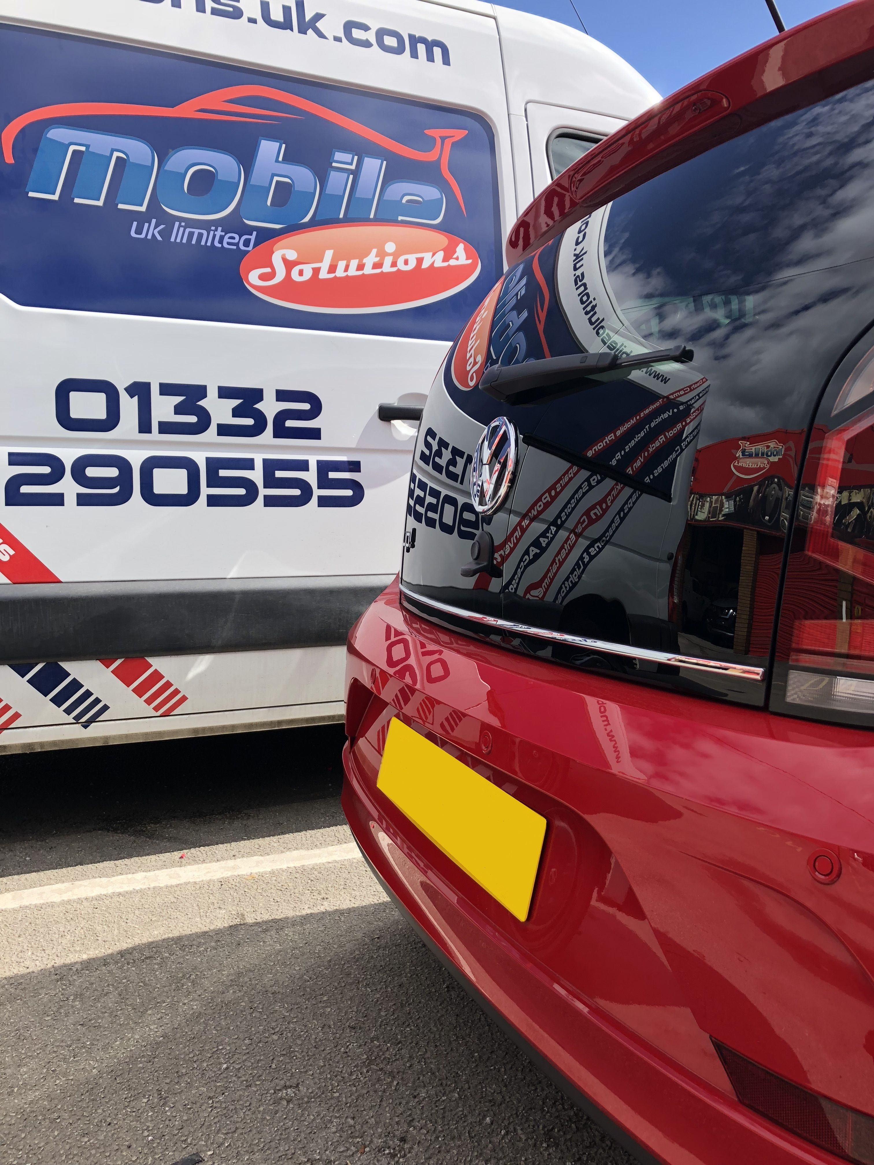 Vw Up Standard Rear Parking Sensors Derby East Midlands Vw Up Sensor Mobile Solutions