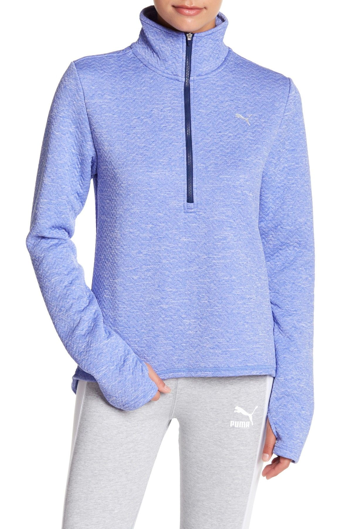 PUMA Nocturnal 3/4 Zip Jacket Jackets, Fit women, Hoodies