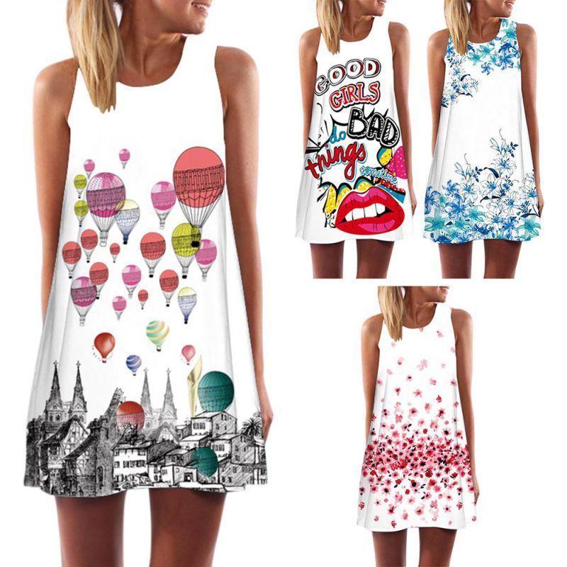 3038fbfe4f23 Women Boho Short Maxi Dress Evening Cocktail Party Beach Dresses Sundress S-2XL  #Unbranded #ShirtDress #Casual