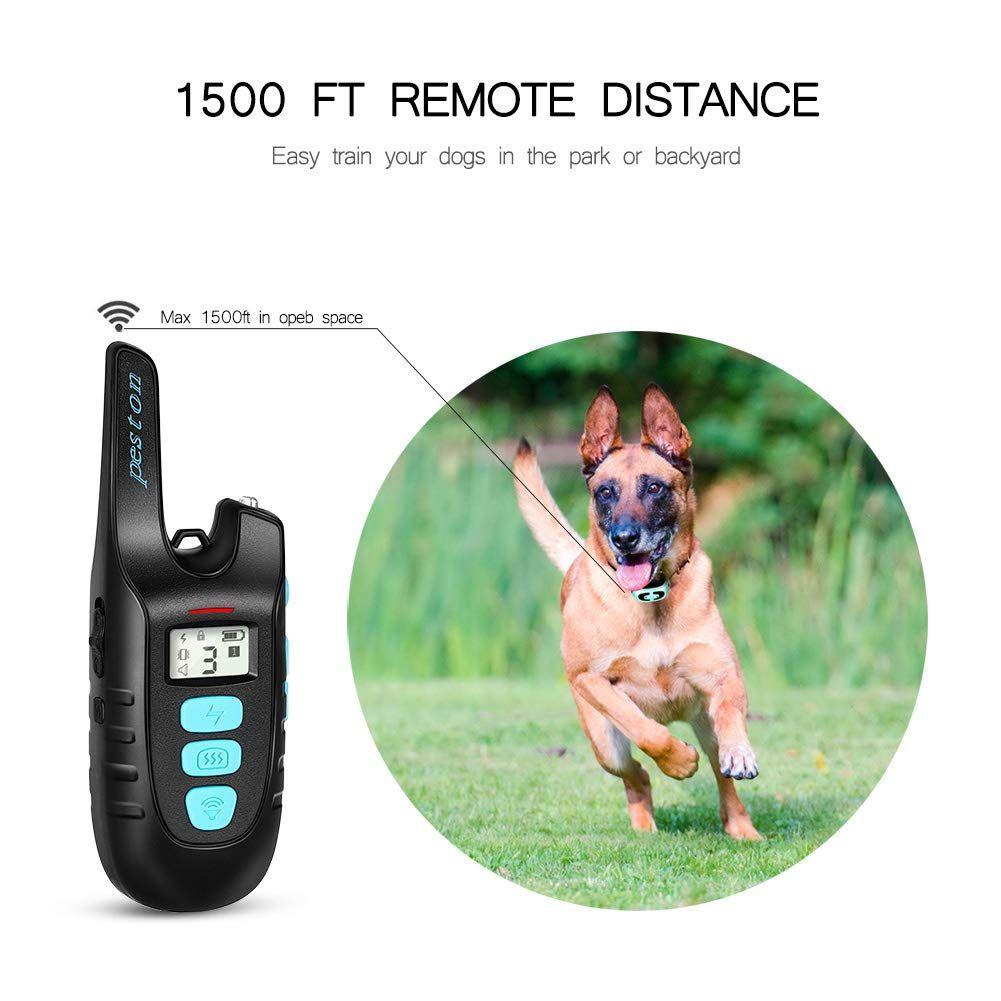 Peston Dog Training Collar With Remote Long Range Up Tp 1500ft