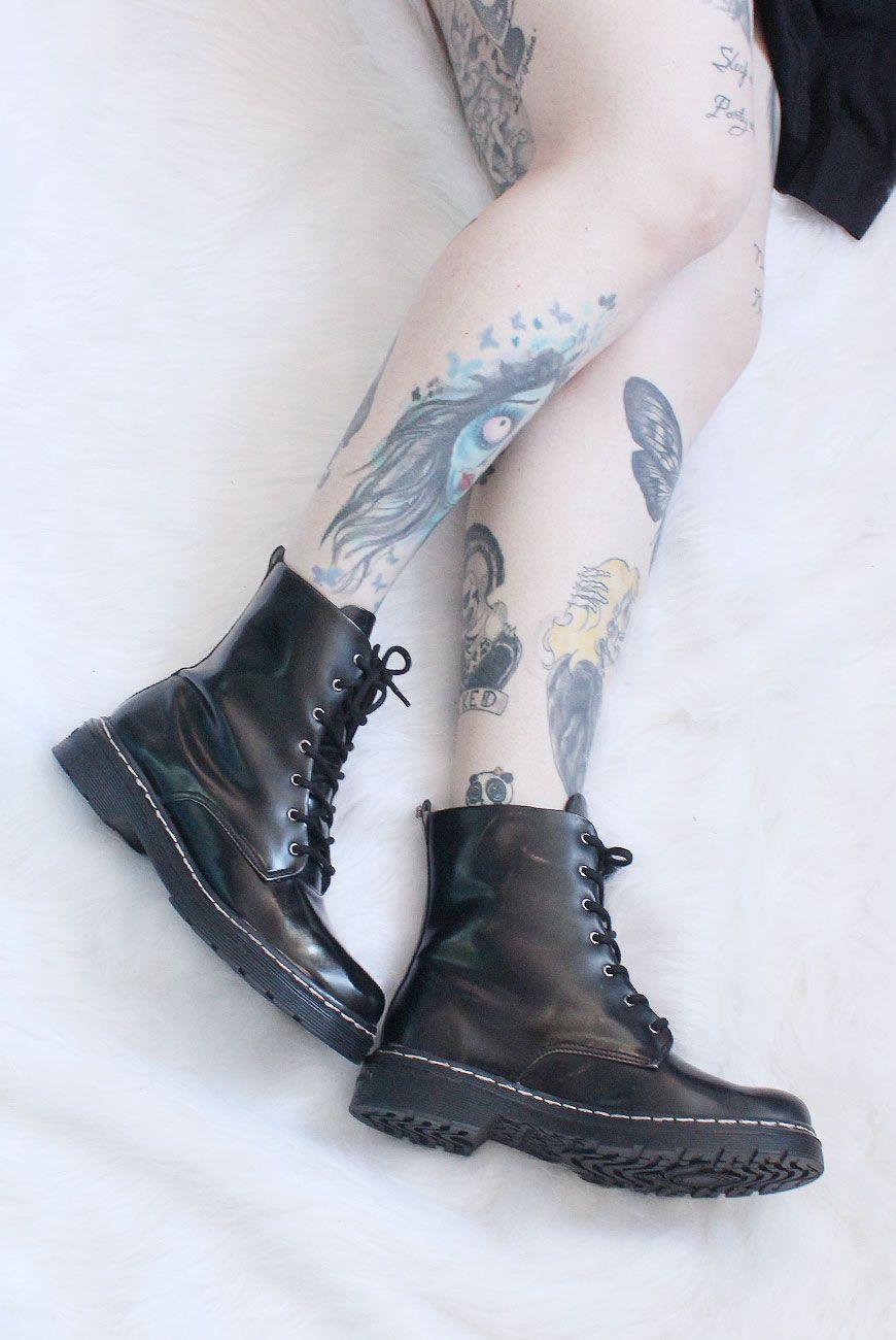 dc85a05b1 Coturno Vegano Cravo e Canela 85630-19 Preto/Pewter | Shoes | Shoe ...