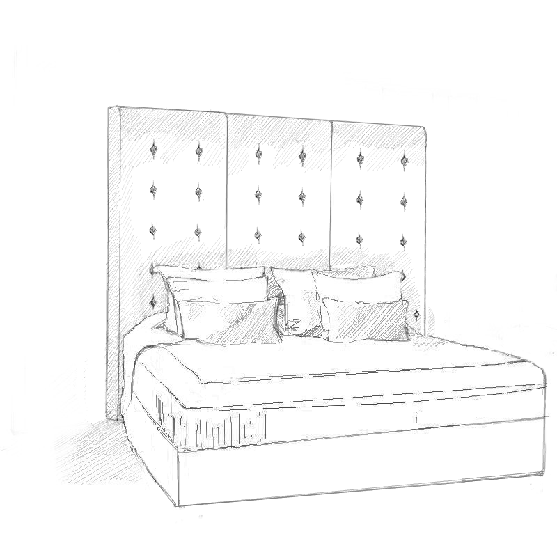 Contemporary Upholstered Beds And Headboards | Slatted Beds And Storage Beds  | Headboards By Design