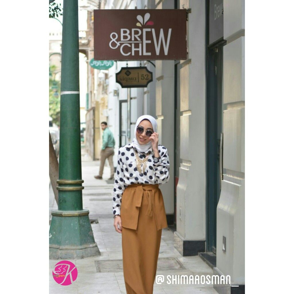 #style #fashion #skirt #design #camel #polkadots #hijab #hijabigirl #hijabchic #muslim #unique #photography