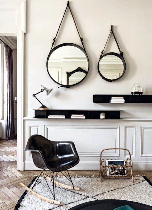La folie des miroirs ronds frenchy fancy