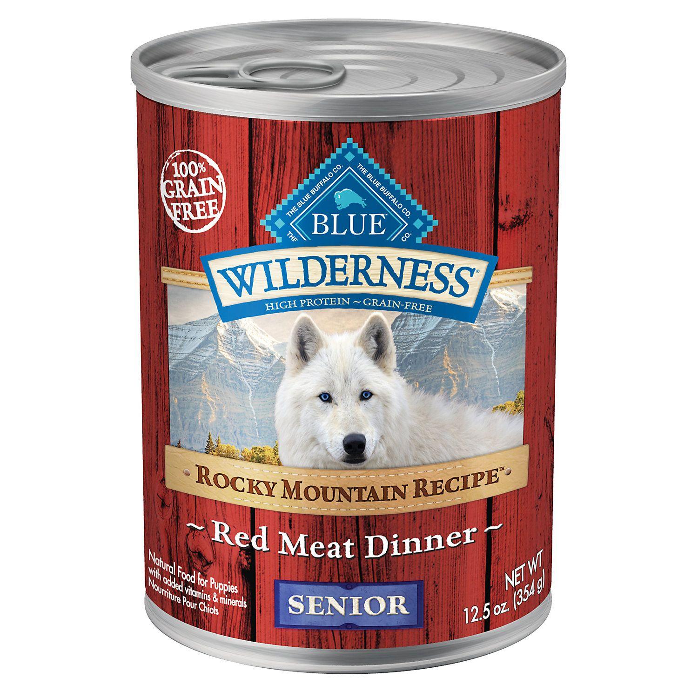 Blue Buffalo Blue Wilderness Rocky Mountain Recipe Red Meat Recipe