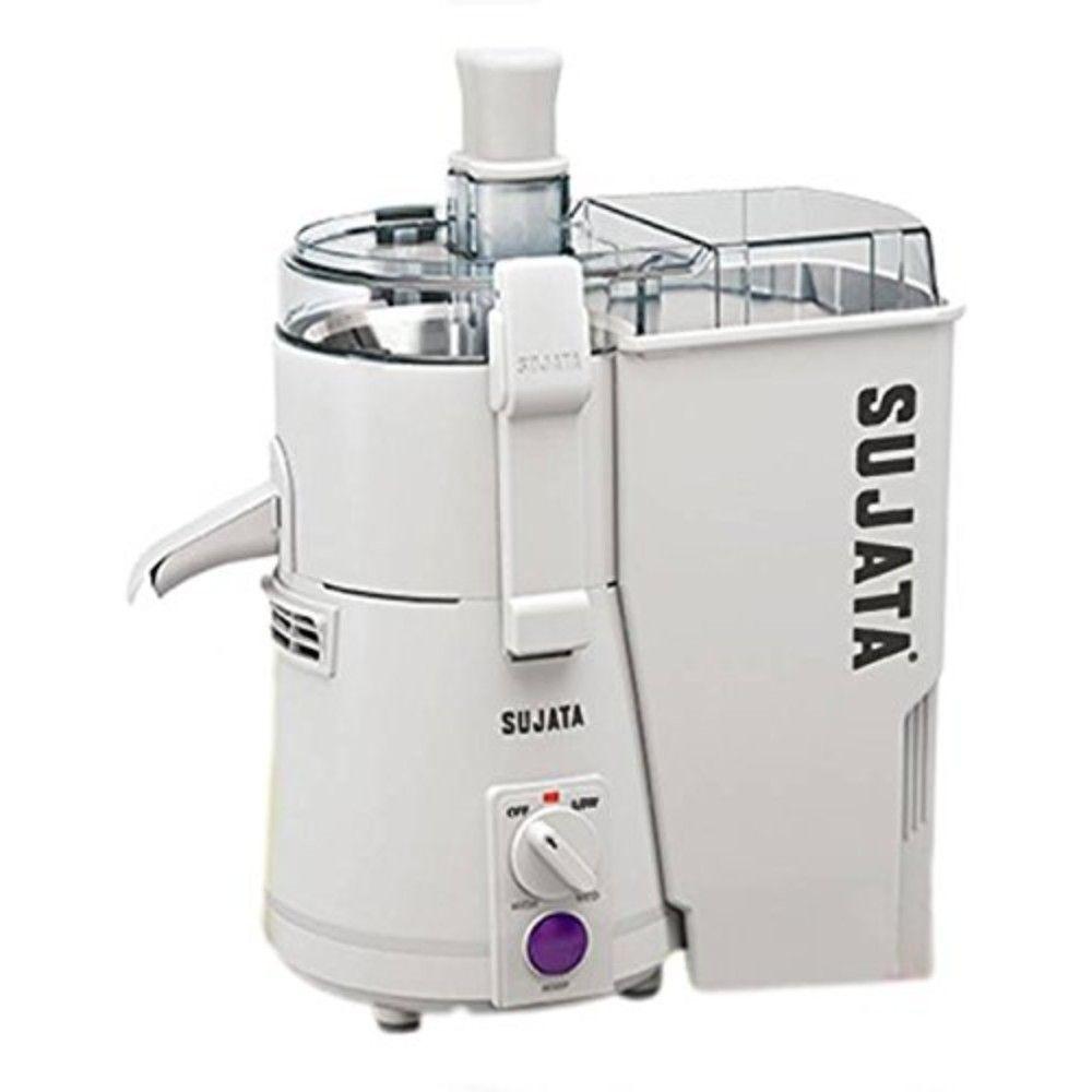 Sujata Powermatic Pm 900 Watt Juicer White Juice Maker Carrot Juice Maker Juicer