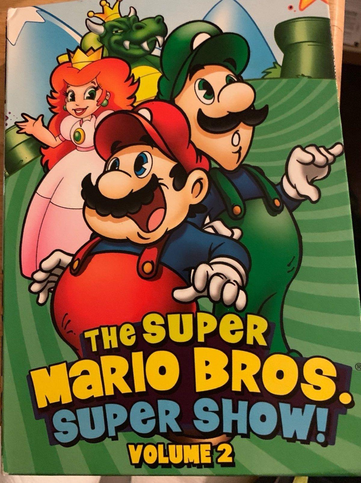 1989 Rare Super Mario Bros Super Show V2 In 2020 Super Mario