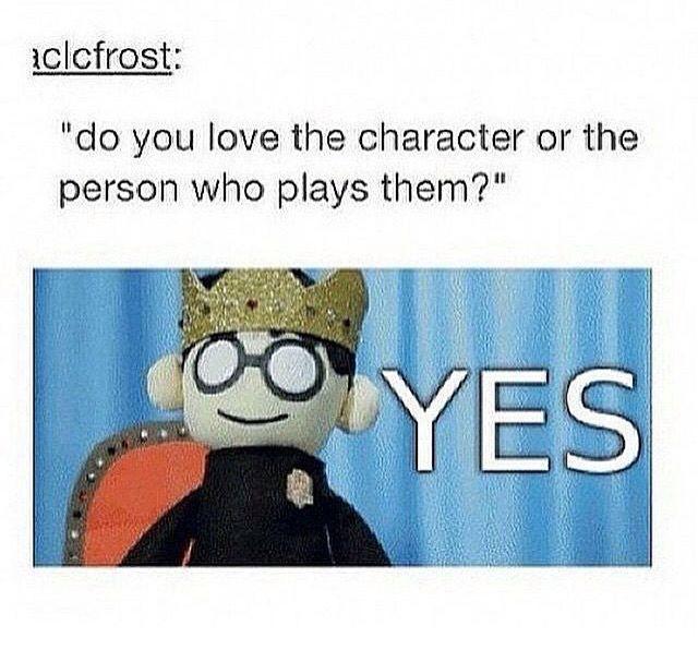 I love both